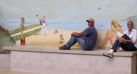 Vintage Pacific Beach Mural